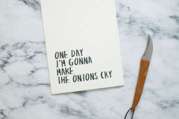 Onions quote